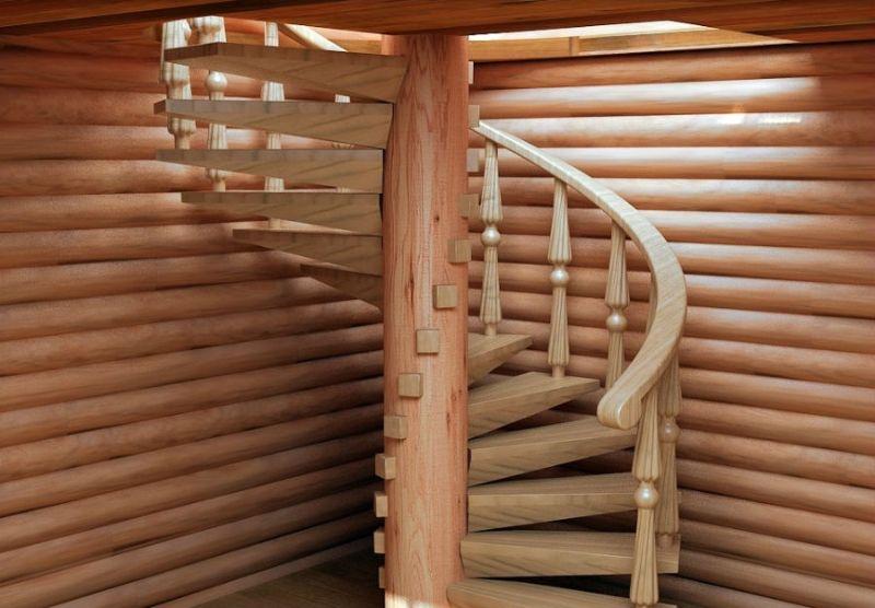 Винтовая лестницы своими руками фото