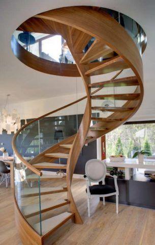 Лестница без опорного столба