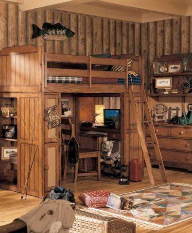 Лестница для кровати маршевого типа