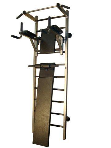 Лестница с откидной полкой