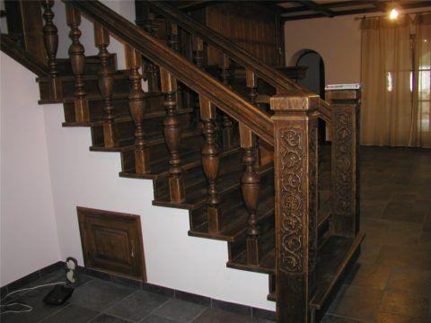 Лестницы из африканского дуба