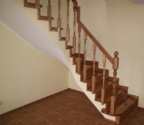 Лестницы из апшеронского дуба