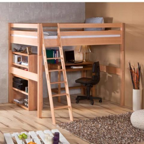 Маршевая лестница кровати-чердака