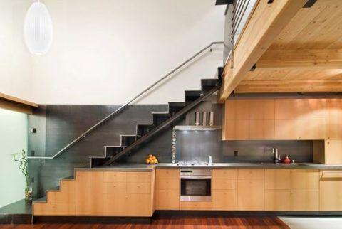 Некрутые дачные лестницы – устройство кухни