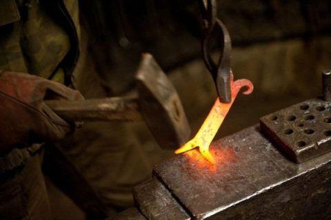 Обработка горячей заготовки