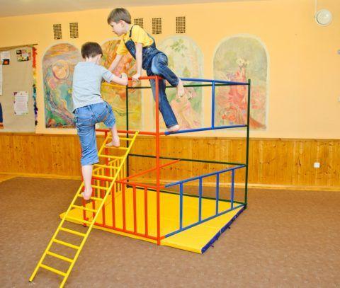 Переносные сборные детские спортивные лестницы для дома