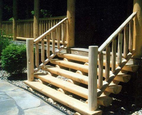 Простая фронтальная лестница