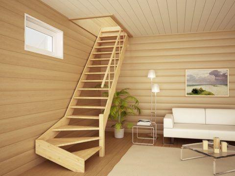Простые, бюджетные лестницы