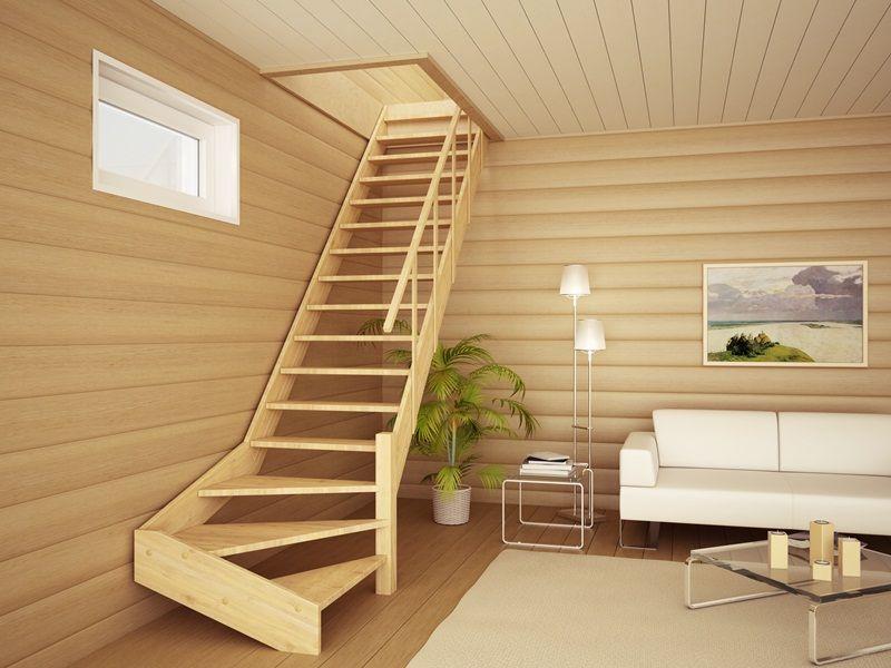 Как лучше сделать лестницу на второй этаж