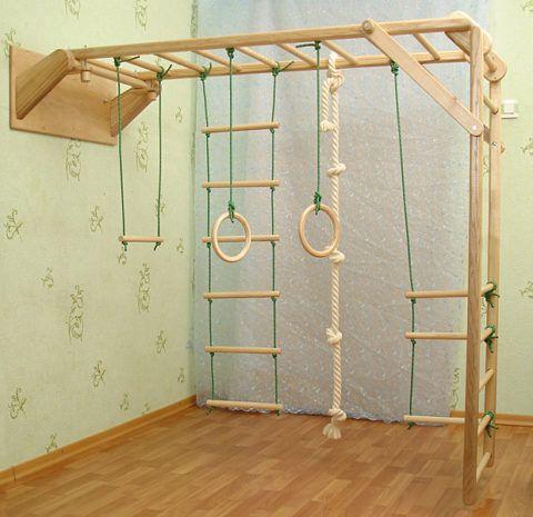 Раскладные шведские лестницы