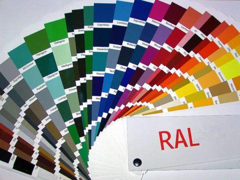 Широкая цветовая гамма порошковых красителей