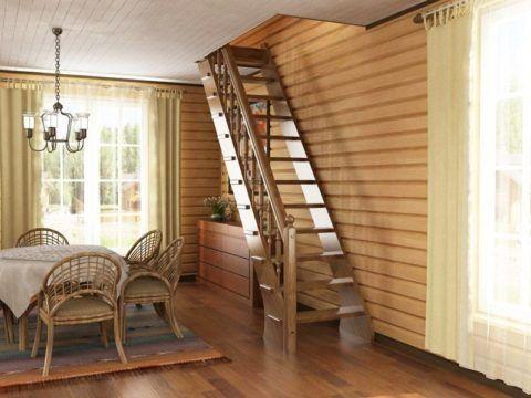 Складные лестницы для чердака