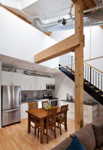 Сложность проведения коммуникаций при размещении кухни под лестницей