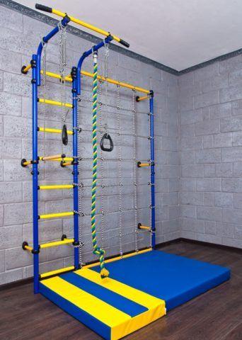 Спортивная лестница для детей в квартиру