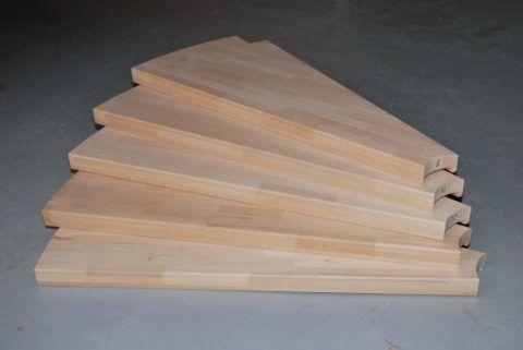 Ступеньки из дерева для винтовой лестницы