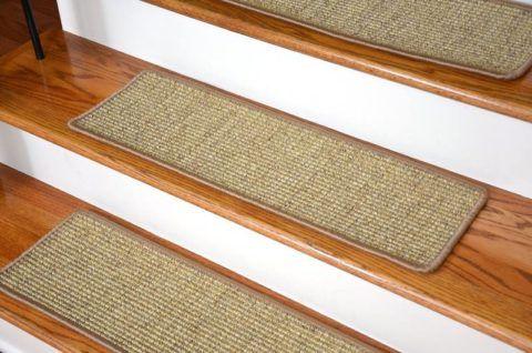 Текстильные накладки на ступени