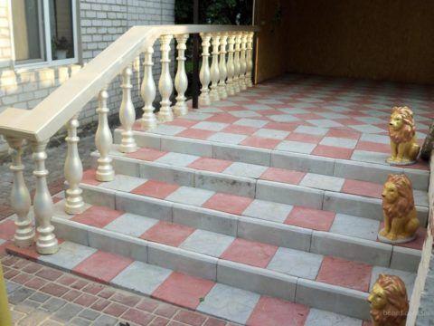 Тротуарная плитка – отличный материал для крыльца