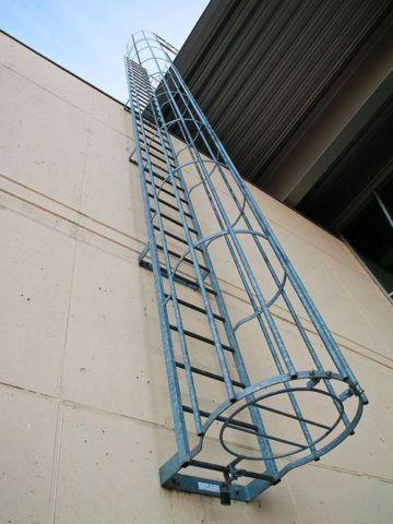 Вертикальные лестницы пожарные П1 ГОСТ 53254