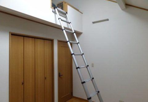 Временная лестница на второй этаж