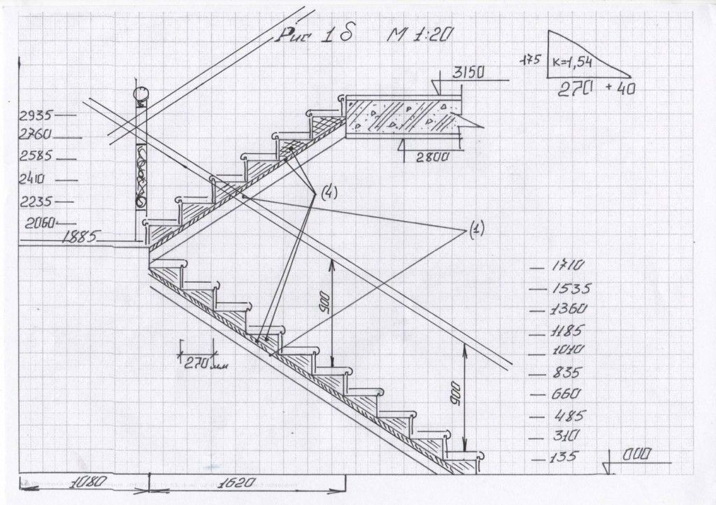 Металлическая лестница своими руками пошаговая инструкция 118