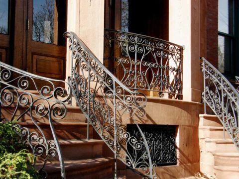 Дизайн железной лестницы