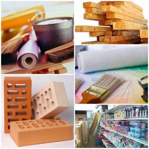 Для строительства крыльца применяются самые разнообразные строительные материалы