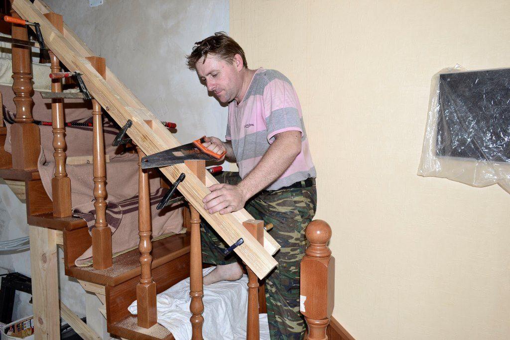 Как сделать балясины для деревянных лестниц