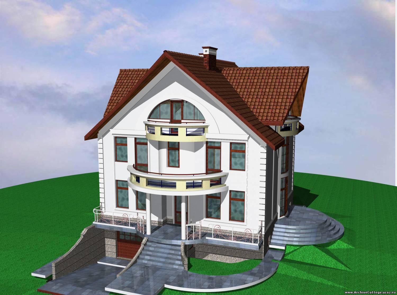 Красивая дом проект схема фото