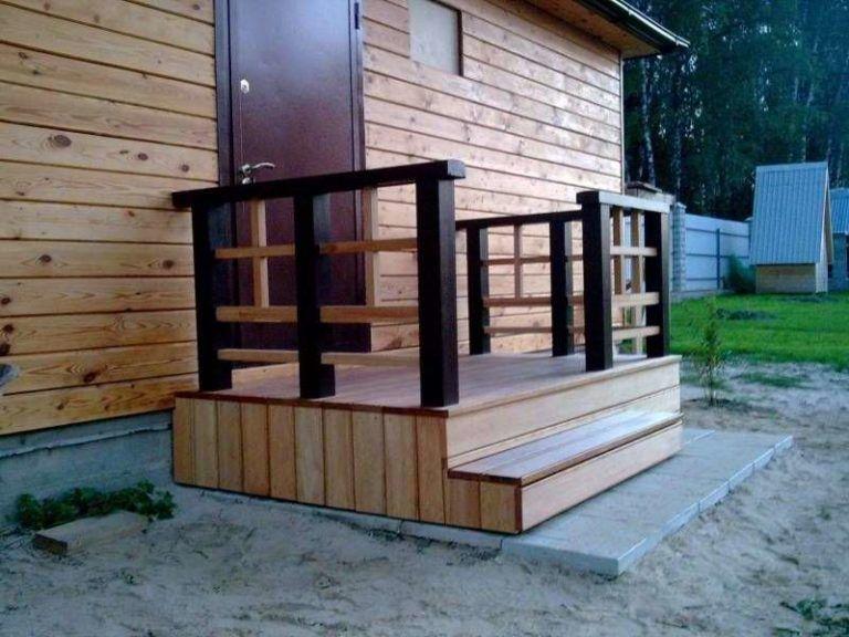 Закрытое крыльцо для деревянного дома своими руками фото 854