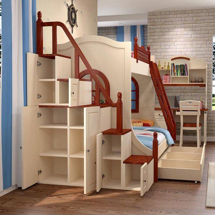 Как сделать лестницу на двухярусную кровать