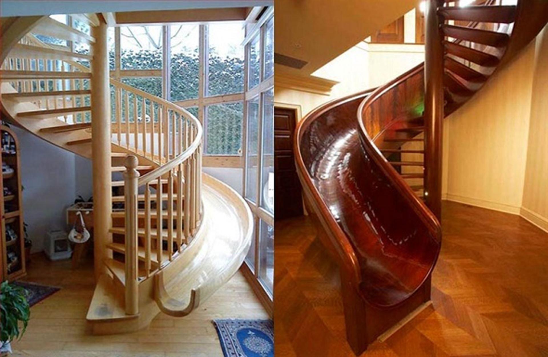 Винтовая лестница своими руками в детский домик