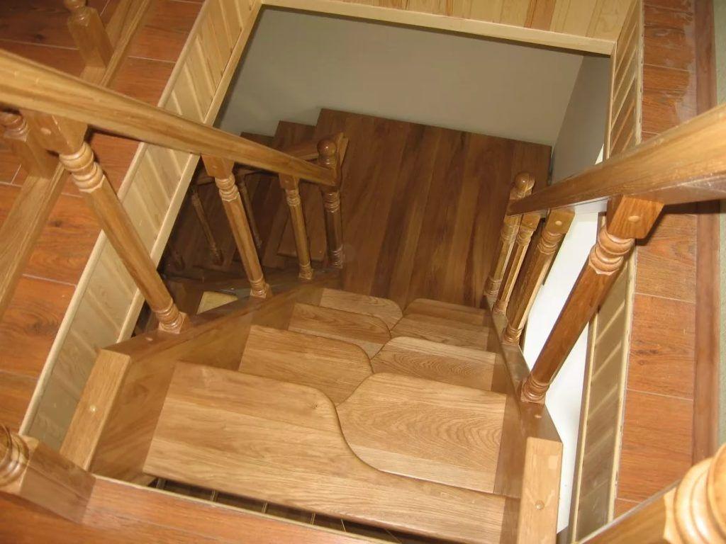 Как сделать лестницу с ступеньками 145
