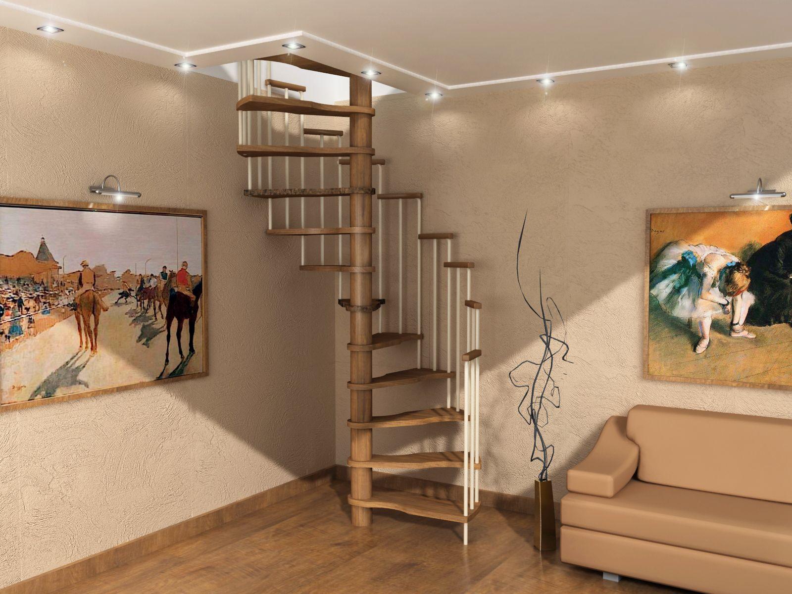 Как сделать в доме лестницу между этажами