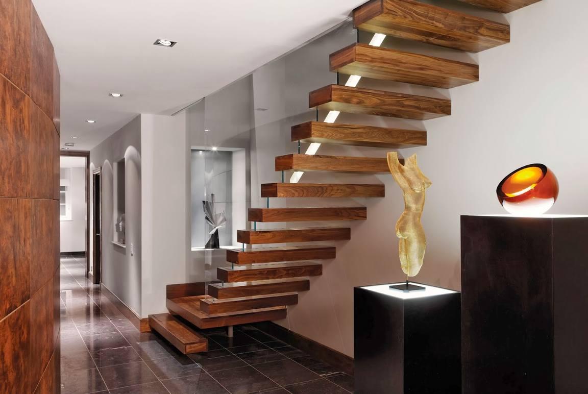 Лестница в дизайне интерьера фото