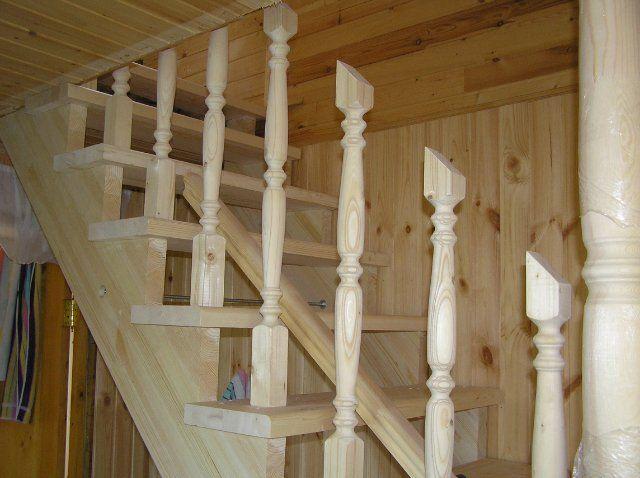 Деревянные перила как сделать своими руками 26