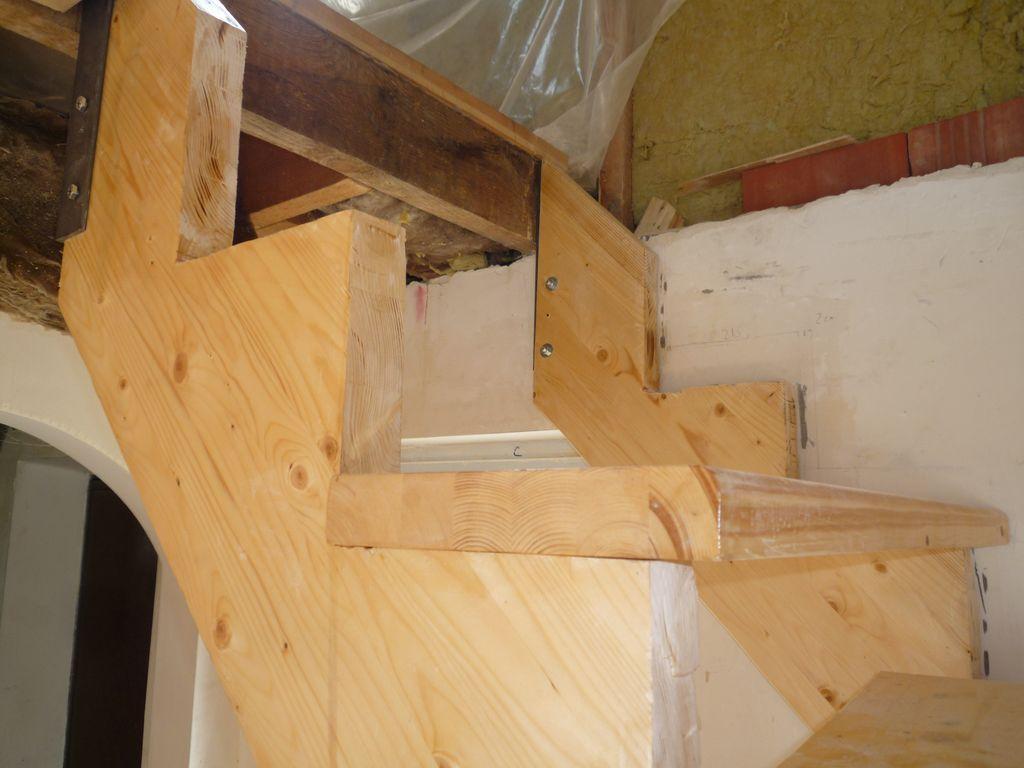 Как сделать лестницу с ступеньками 104