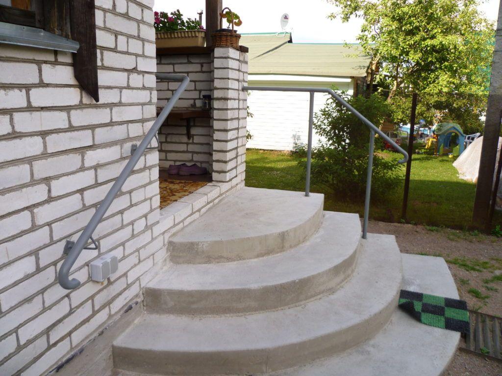 крыльцо для частного дома из бетона фото