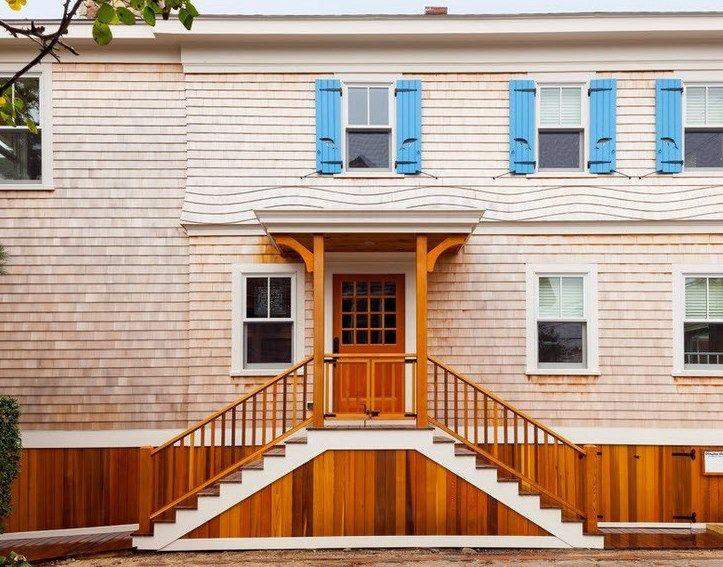 Деревянный навес над крыльцом частного дома и дачи своими руками: виды  Фото