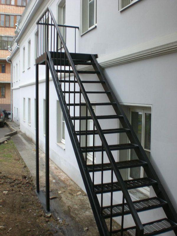 Лестница на чердак своими руками уличная фото 4