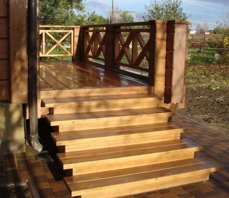 Схема лестниц на крыльцо
