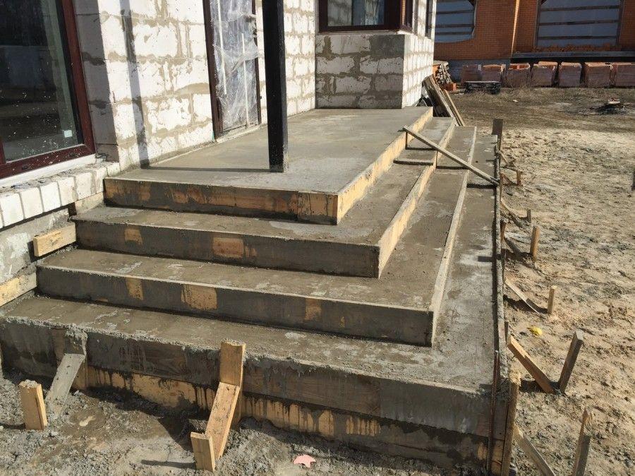 лестница фундамент