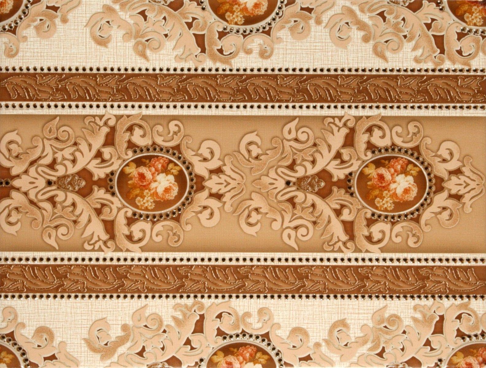 Поверхность керамогранита, имитирующая текстиль