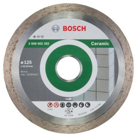 Диск для всех типов керамической плитки: гладкий и без отверстий
