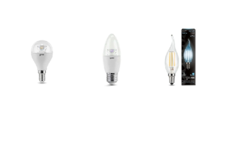 Формы светодиодных ламп для лестничных люстр