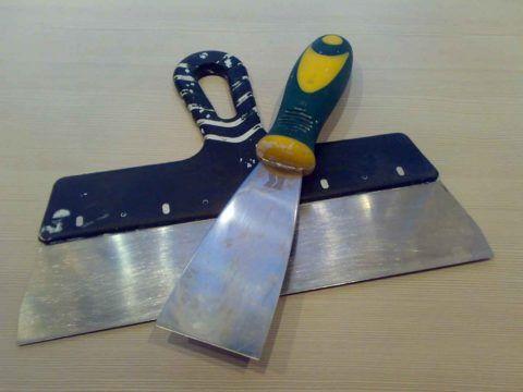 Инструмент, которым вы работаете, должен быть чистым