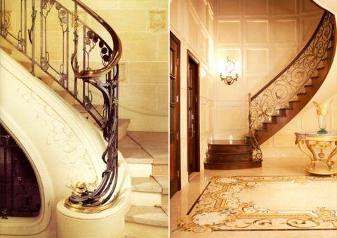 Интересные лестницы на второй этаж в сите модерн