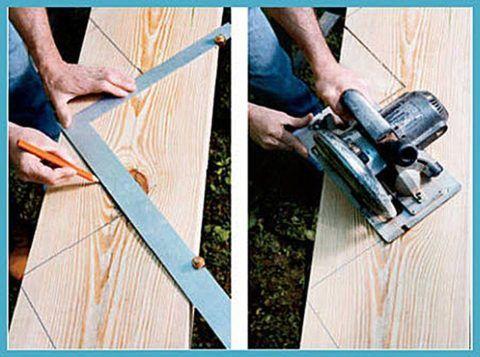Крыльцо для дачного дома: изготовление косоуров