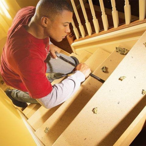 Лестницы деревянные: скрип устраняется при помощи герметика