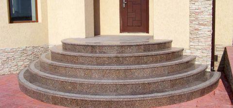 Лестницы наружные из бетона