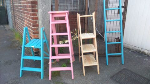 Лестницы стремянки для своего дома